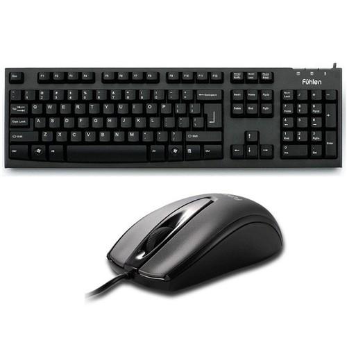 Bộ bàn phím và chuột có dây Fuhlen L411- L102