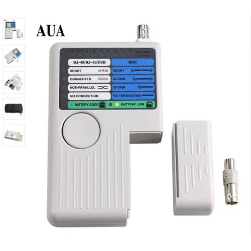 Máy kiểm tra tín hiệu mạng đời mới AUA RJ11 RJ45 USB BNC LAN Cho cáp mạng Lan, cáp điện thoại, cáp USB, cáp đồng trục từ xa - 6387813 , 16486551 , 15_16486551 , 550000 , May-kiem-tra-tin-hieu-mang-doi-moi-AUA-RJ11-RJ45-USB-BNC-LAN-Cho-cap-mang-Lan-cap-dien-thoai-cap-USB-cap-dong-truc-tu-xa-15_16486551 , sendo.vn , Máy kiểm tra tín hiệu mạng đời mới AUA RJ11 RJ45 USB BNC LAN