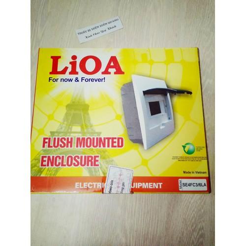 Vỏ Tủ điện âm tường 3-6 Lioa