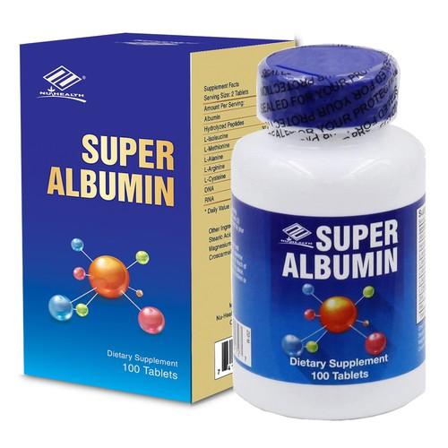 Supper Albumin -  tăng cường chức năng gan, hỗ trợ bệnh nhân hóa trị, xạ trị, thận