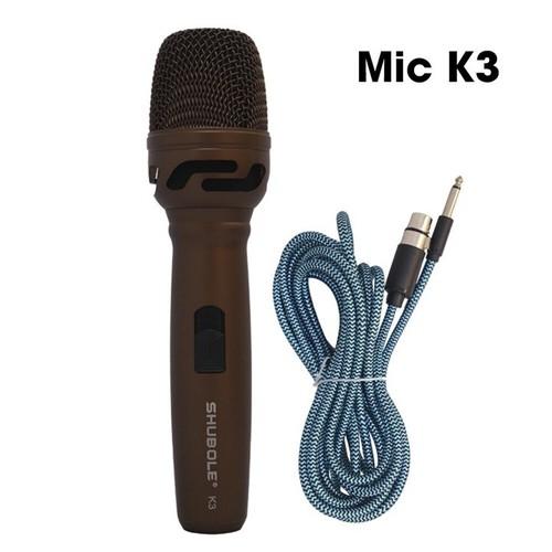 Micro có dây cao cấp Shubole K3