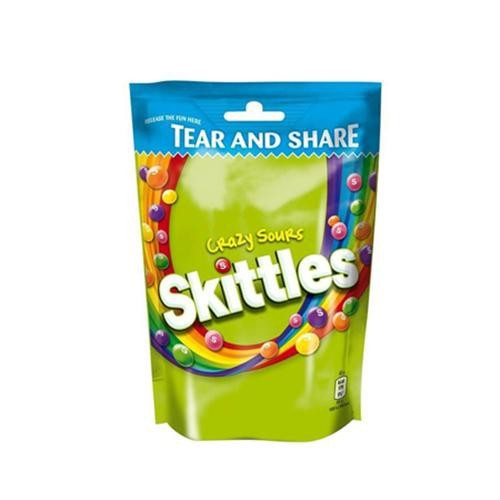 Kẹo Chua hiệu Skittles 400g