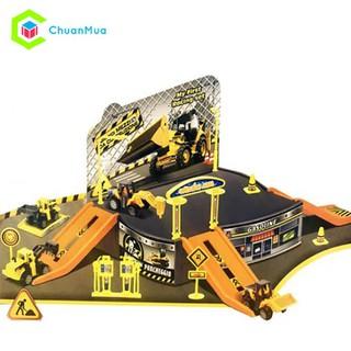 Mô hình bãi đậu xe công trình ChuanToy DCA152 - DCA152-C0169A thumbnail