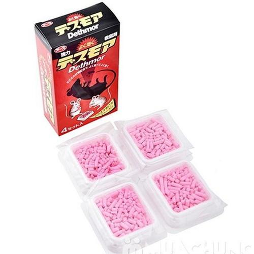 Thuốc diệt chuột  Dethmor Nhật Bản Hộp 4 vỉ - 6410485 , 16502029 , 15_16502029 , 158000 , Thuoc-diet-chuot-Dethmor-Nhat-Ban-Hop-4-vi-15_16502029 , sendo.vn , Thuốc diệt chuột  Dethmor Nhật Bản Hộp 4 vỉ