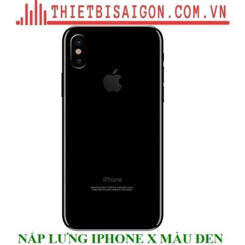 NẮP LƯNG IPHONE X MÀU ĐEN