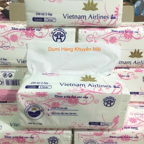 Khăn giấy lụa cao cấp Vietnam Airlines bịch 280 tờ 2 lớp - giấy rút - giấy ăn - 6398130 , 16493934 , 15_16493934 , 25000 , Khan-giay-lua-cao-cap-Vietnam-Airlines-bich-280-to-2-lop-giay-rut-giay-an-15_16493934 , sendo.vn , Khăn giấy lụa cao cấp Vietnam Airlines bịch 280 tờ 2 lớp - giấy rút - giấy ăn