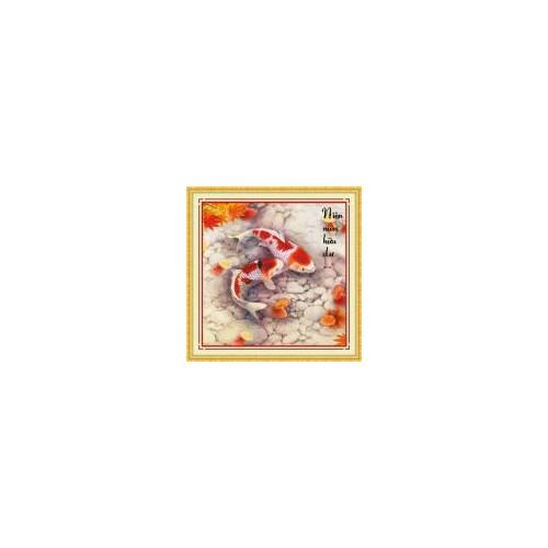 DLH-222762-Tranh thêu Niên niên hữu dư 51.51