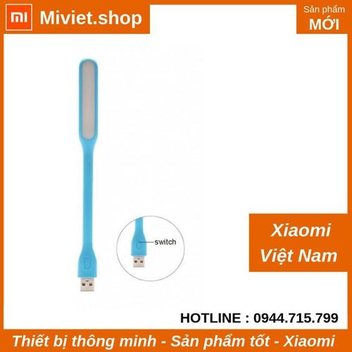 Đèn LED USB Xiaomi  2 có nút bấm - Xanh - Chính Hãng - Miviet.shop