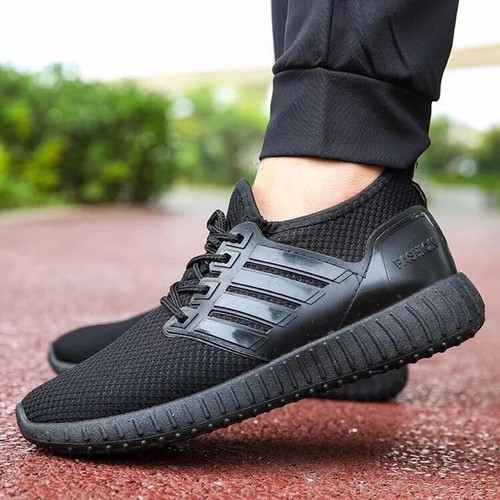 Giày thể thao vải mềm viền 3 vạch cho nam