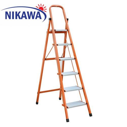 Thang nhôm ghế 6 bậc Nikawa NKS-06 - 6418025 , 16506326 , 15_16506326 , 1705000 , Thang-nhom-ghe-6-bac-Nikawa-NKS-06-15_16506326 , sendo.vn , Thang nhôm ghế 6 bậc Nikawa NKS-06