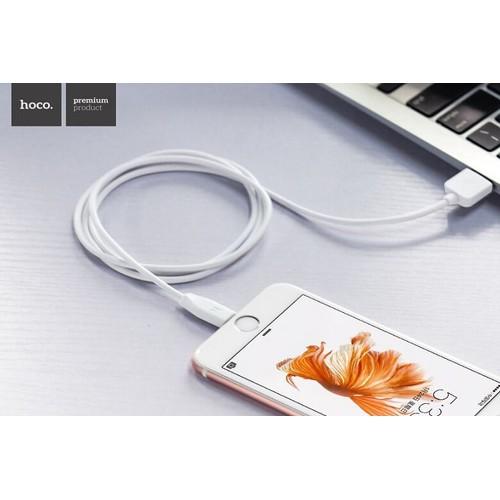 Cáp sạc nhanh dành cho Iphone Ipad dài 1 mét Hoco X1 Lightning - 6446574 , 16528094 , 15_16528094 , 49000 , Cap-sac-nhanh-danh-cho-Iphone-Ipad-dai-1-met-Hoco-X1-Lightning-15_16528094 , sendo.vn , Cáp sạc nhanh dành cho Iphone Ipad dài 1 mét Hoco X1 Lightning