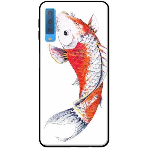 Ốp lưng nhựa dẻo Samsung. A7 2018 Cá chép