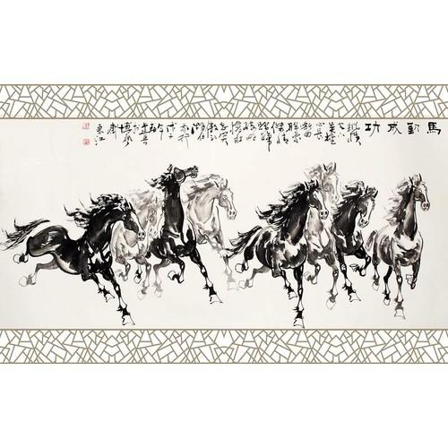 Tranh con ngựa Mã đáo thành công KÈM KHUNG-Kích thước 118x75cm - 4724606 , 16528445 , 15_16528445 , 565000 , Tranh-con-ngua-Ma-dao-thanh-cong-KEM-KHUNG-Kich-thuoc-118x75cm-15_16528445 , sendo.vn , Tranh con ngựa Mã đáo thành công KÈM KHUNG-Kích thước 118x75cm