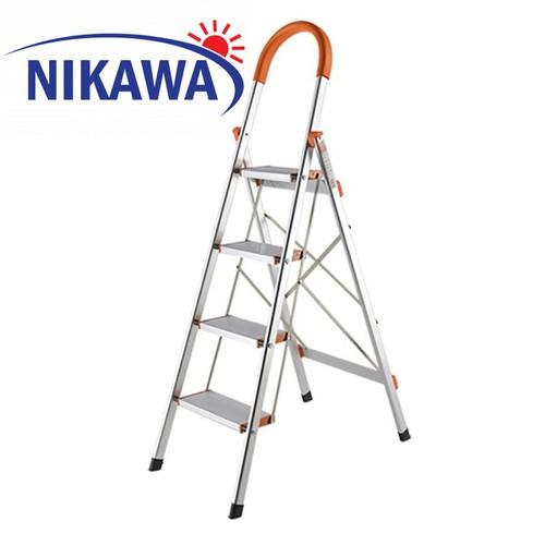 Thang nhôm ghế 4 bậc Nikawa NKA-04 - 6420004 , 16507432 , 15_16507432 , 1065000 , Thang-nhom-ghe-4-bac-Nikawa-NKA-04-15_16507432 , sendo.vn , Thang nhôm ghế 4 bậc Nikawa NKA-04