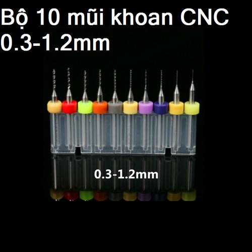 mũi khoan CNC