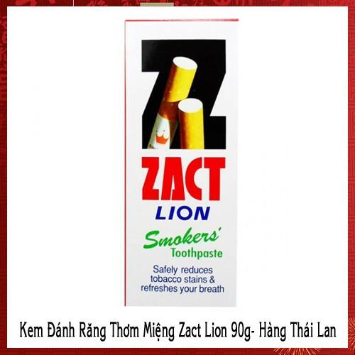 Kem Đánh Răng Thơm Miệng Zact Lion 90g - Hàng Thái Lan - 6448533 , 16529501 , 15_16529501 , 164000 , Kem-Danh-Rang-Thom-Mieng-Zact-Lion-90g-Hang-Thai-Lan-15_16529501 , sendo.vn , Kem Đánh Răng Thơm Miệng Zact Lion 90g - Hàng Thái Lan