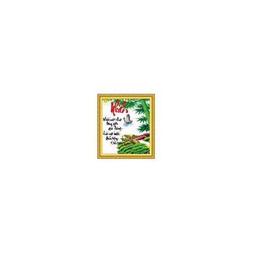 DLH-222871- Tranh thêu chữ Nhẫn- 65.74 - 6420103 , 16507548 , 15_16507548 , 201000 , DLH-222871-Tranh-theu-chu-Nhan-65.74-15_16507548 , sendo.vn , DLH-222871- Tranh thêu chữ Nhẫn- 65.74