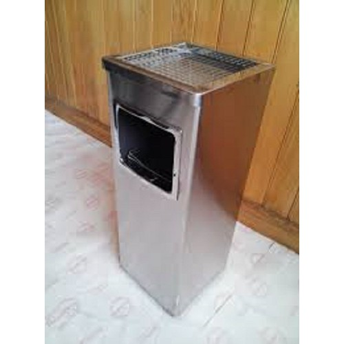 Thùng rác inox vuông có gạt tàn - 6427729 , 16512426 , 15_16512426 , 850000 , Thung-rac-inox-vuong-co-gat-tan-15_16512426 , sendo.vn , Thùng rác inox vuông có gạt tàn