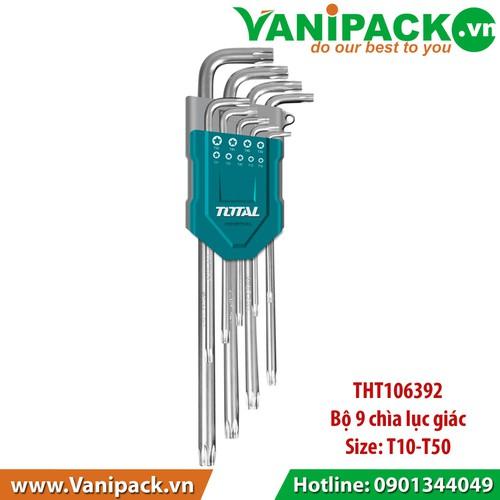 Bộ khóa lục giác T10- T50 Total THT106392 - 6421194 , 16508103 , 15_16508103 , 112970 , Bo-khoa-luc-giac-T10-T50-Total-THT106392-15_16508103 , sendo.vn , Bộ khóa lục giác T10- T50 Total THT106392