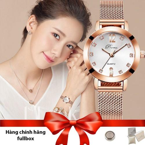 Đồng hồ nữ thời trang Prema JP- mặt 28mm phù hợp cho phụ nữ Việt