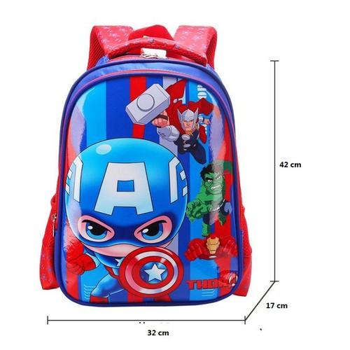 Balo Đi Học Cho Bé Trai Biệt Đội Siêu Anh Hùng Avengers
