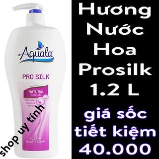 Sữa tắm dưỡng da Aquala Pro Silk - SHOP HỔ TRỢ SHIP 10K + 1 PHẦN HỔ TRỢ TỪ SENDO - minh031 thumbnail