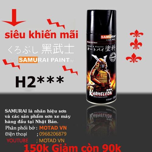 Sơn Chịu Nhiệt Độ Cao H2 SAMURAI-H2***