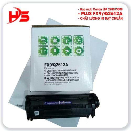 Hộp mực Canon LBP 2900, 3000 - PLUS FX9, Q2612A