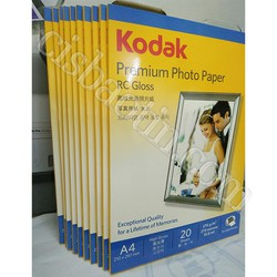 COMBO 10 HỘP- GIẤY IN KODAK A4 RC HIGH GLOSSY 270G