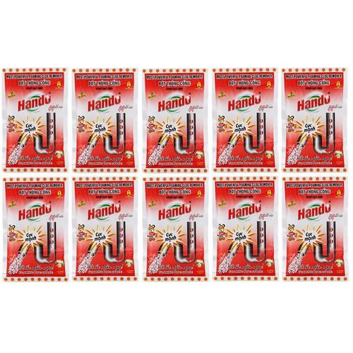 Bộ 10 gói bột thông cống xuất khẩu Hando 100g cực mạnh - 6436909 , 16518156 , 15_16518156 , 250000 , Bo-10-goi-bot-thong-cong-xuat-khau-Hando-100g-cuc-manh-15_16518156 , sendo.vn , Bộ 10 gói bột thông cống xuất khẩu Hando 100g cực mạnh
