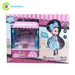 Đồ chơi bé gái xe đẩy kem ChuanToy DCA166
