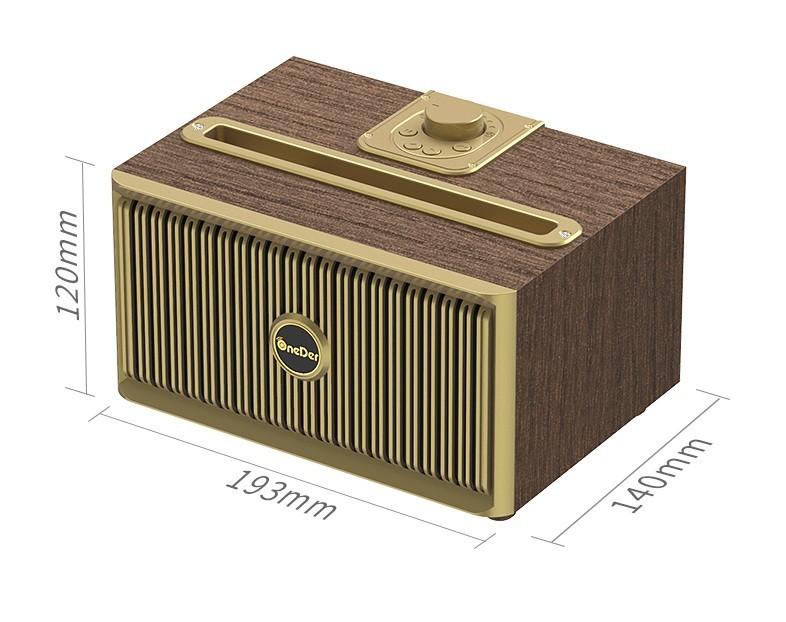 Loa Buetooth Oneder V06 siêu Bass âm thanh chuẩn Hifi Đen PF147 11