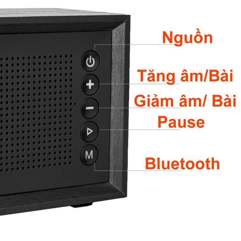 Loa Buetooth Oneder V2 siêu Bass âm thanh chuẩn Hifi Đen PF148 11