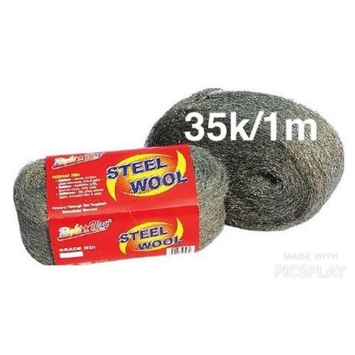 Combo 2 gói Bùi nhùi thép gói dài 50 cm
