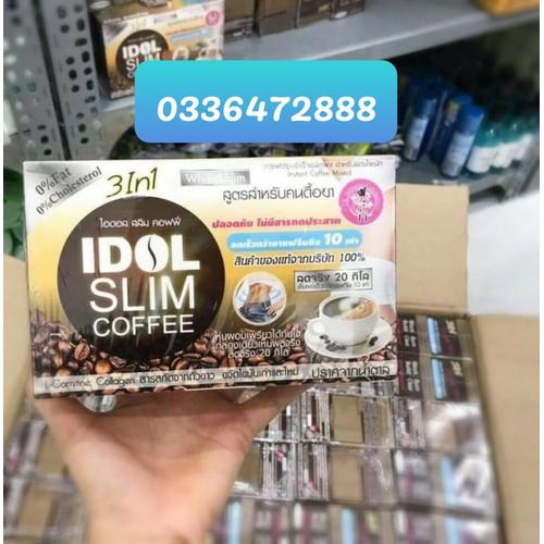 CÀ PHÊ GIẢM CÂN IDOL SLIM COFFEE CHUẨN THÁI LAN MẪU MỚI - 6443064 , 16524386 , 15_16524386 , 120000 , CA-PHE-GIAM-CAN-IDOL-SLIM-COFFEE-CHUAN-THAI-LAN-MAU-MOI-15_16524386 , sendo.vn , CÀ PHÊ GIẢM CÂN IDOL SLIM COFFEE CHUẨN THÁI LAN MẪU MỚI