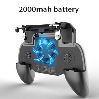 [Hỗ Trợ 30K PVC] TAY CẦM CHƠI GAME PUBG SP+ CÓ ĐẾ TẢN NHIỆT KIÊM SẠC DỰ PHÒNG TẶNG JOYSTICK - máy game sp+ cực hot thumbnail