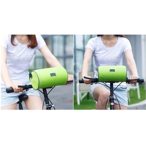 Túi đeo treo xe đạp để vật dụng, để điện thoại dò Map đi đường, túi chống nước mưa cực xịn