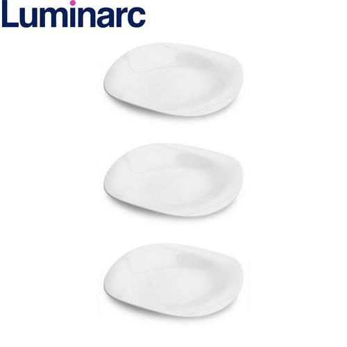 Bộ 3 đĩa thủy tinh Luminarc Carine 19cm H3660