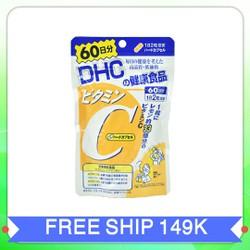 Viên uống bổ sung vitamin c dhc|vien uong vitamin c dhc xuất xứ Nhật Bản 120 viên