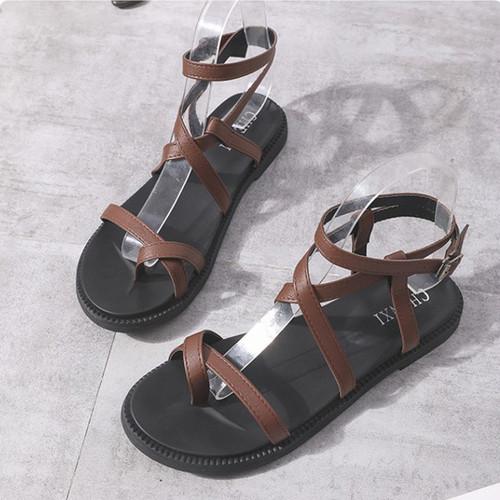 Giày Sandal Nữ Đế Bệt Xỏ Ngón Quai Chéo Xinh Xắn - 6423138 , 16508964 , 15_16508964 , 250000 , Giay-Sandal-Nu-De-Bet-Xo-Ngon-Quai-Cheo-Xinh-Xan-15_16508964 , sendo.vn , Giày Sandal Nữ Đế Bệt Xỏ Ngón Quai Chéo Xinh Xắn