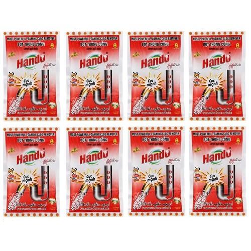 Bộ 8 gói bột thông cống xuất khẩu Hando 100g cực mạnh - 6435483 , 16517733 , 15_16517733 , 250000 , Bo-8-goi-bot-thong-cong-xuat-khau-Hando-100g-cuc-manh-15_16517733 , sendo.vn , Bộ 8 gói bột thông cống xuất khẩu Hando 100g cực mạnh