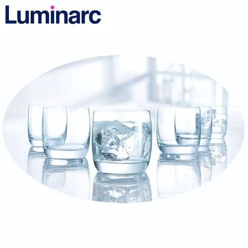 Bộ 6 ly thủy tinh thấp Luminarc Vigne 200ml G2572 - Trong suốt