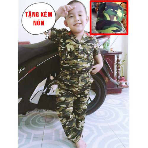 Bộ đồ lính rằn ri trẻ em kèm nón lưỡi trai - 6458696 , 16539177 , 15_16539177 , 170000 , Bo-do-linh-ran-ri-tre-em-kem-non-luoi-trai-15_16539177 , sendo.vn , Bộ đồ lính rằn ri trẻ em kèm nón lưỡi trai