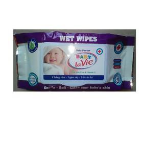 Combo 20 hộp khăn giấy ướt không mùi hộp 80 gr - khan giay uot - khan20
