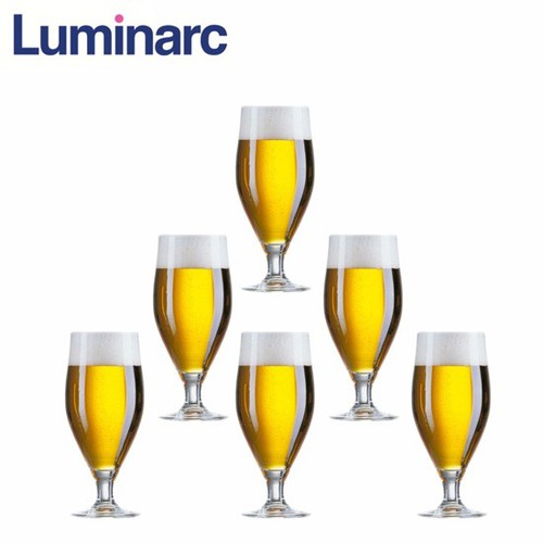 Bộ 6 ly bia thủy tinh Luminarc Cervoise 500ml J9196