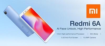 Điện thoại Xiaomi Redmi 6A