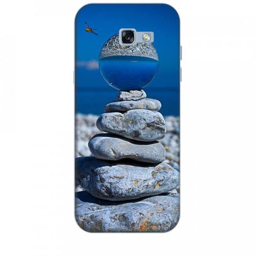 Ốp lưng dành cho điện thoại  SAMSUNG GALAXY A7 2017 Đá Ngủ Sắc  hàng chất lượng cao