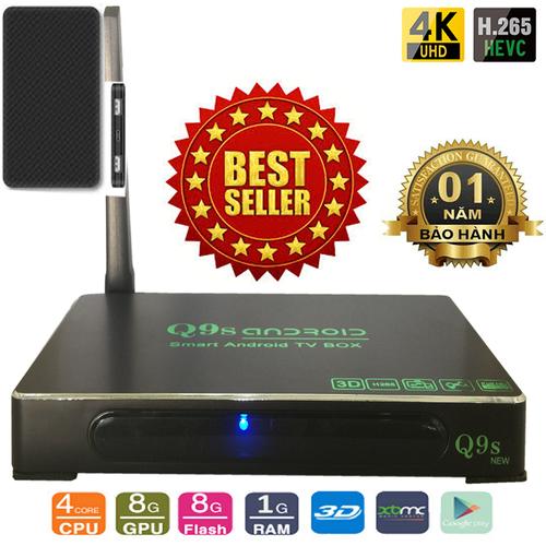 Android TV Box Ultra HD Q9s New kèm Pin sạc dự phòng ELOOP E30 dung lượng 5.000mAh - 4725376 , 16536791 , 15_16536791 , 750000 , Android-TV-Box-Ultra-HD-Q9s-New-kem-Pin-sac-du-phong-ELOOP-E30-dung-luong-5.000mAh-15_16536791 , sendo.vn , Android TV Box Ultra HD Q9s New kèm Pin sạc dự phòng ELOOP E30 dung lượng 5.000mAh