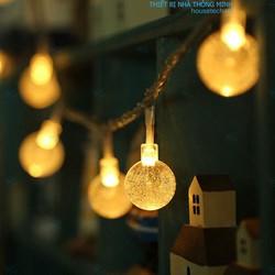 Dây đèn led hình bong bóng cắm cổng usb