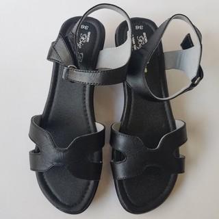 Giày Sandal Đế xuồng BIGBEN da bò thật cao cấp GĐX20 - GĐX20 thumbnail